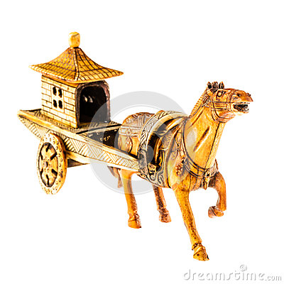 Free Chinese Chariot Royalty Free Stock Photography - 59693477