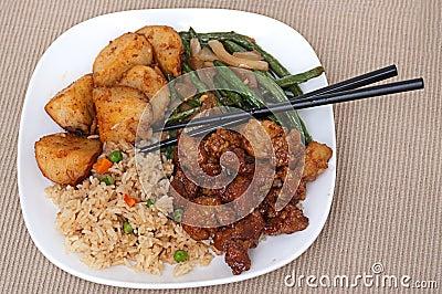 Chinese Chicken Dinner