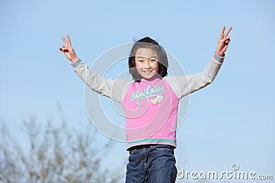 Chinese child victory