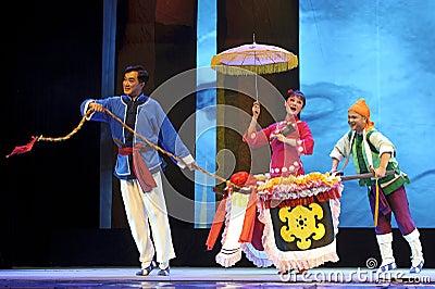 Chinese Chu opera Editorial Photo