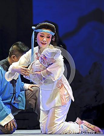 Chinese Chu opera actress Editorial Photography