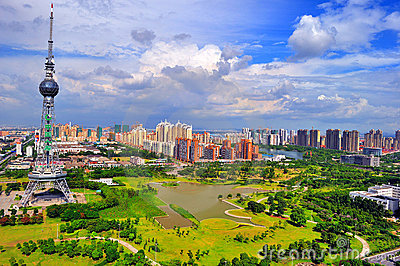Chinese Cities Today Stock Photo - Image: 18486790