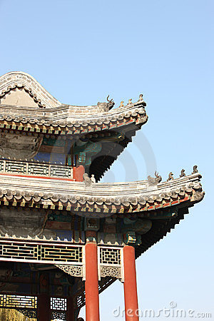 Chinese classic building details