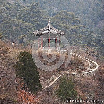 Chinese classic pavilion