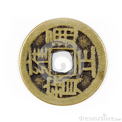 Free Chinese Coin Stock Images - 25086164