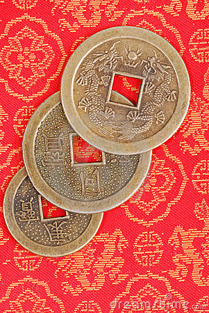 Free Chinese Coins Stock Image - 1869551