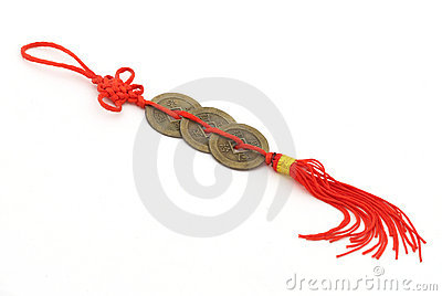 Chinese coins of luck