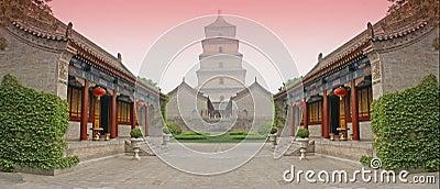 Chinese combat arena