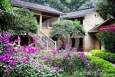 Chinese countryside villa