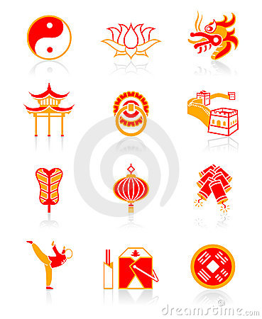 Chinese culture icons | JUICY series