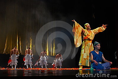 Chinese culture show Editorial Photography