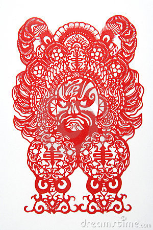 Chinese cut paper