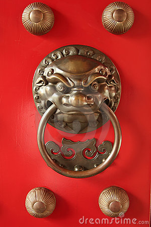 Chinese Door Guardian Handle for Protection