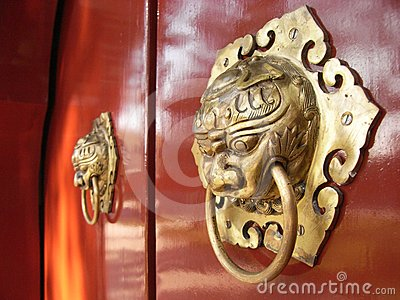 Chinese Door Knocker