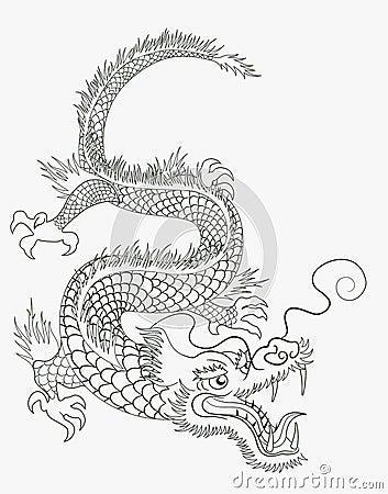 Free Chinese Dragon Royalty Free Stock Photos - 14434028