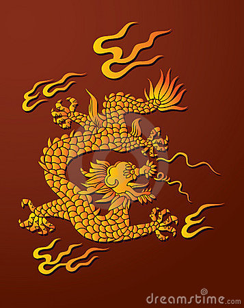Free Chinese Dragon Stock Photography - 17482442