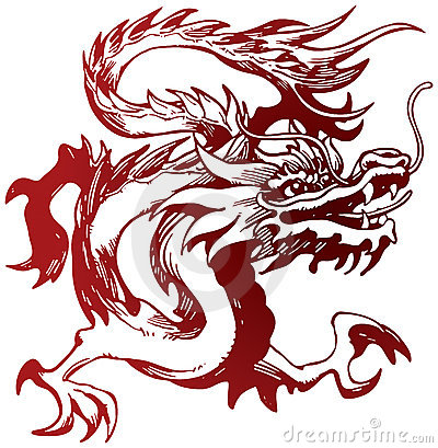 Free Chinese Dragon Stock Images - 22421454