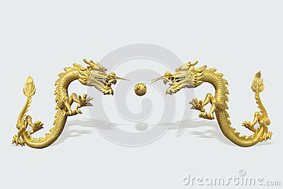 The Chinese dragon