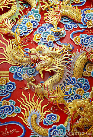 Free Chinese Dragon Royalty Free Stock Photo - 5714245