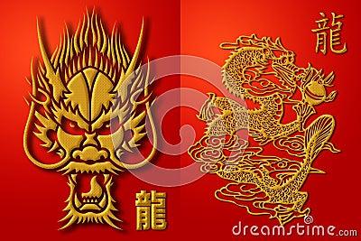 Red Chinese Dragon Wallpaper Url Axsoris Symbol