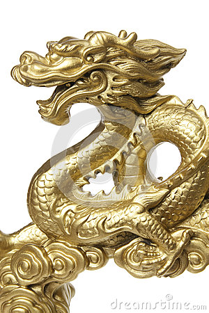 Free Chinese Dragon Figurine Royalty Free Stock Photography - 25406797