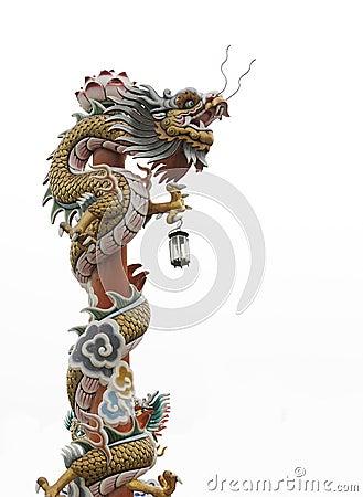 Free Chinese Dragon Pole Stock Photos - 23543173