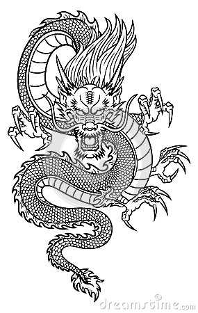 Chinese Dragon Royalty Free Stock Photo Image 33671675
