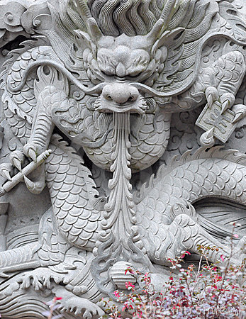 Free Chinese Dragon Wall Royalty Free Stock Photography - 13817117