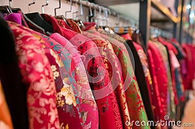 Chinese dress shop