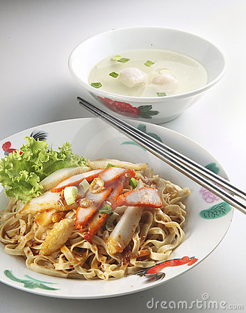 Chinese dry noodle