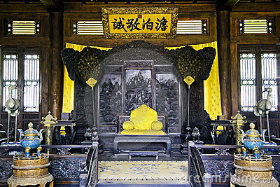 Chinese empire s seat