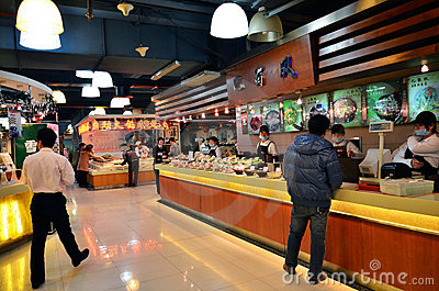 Chinese fastfood restaurant Editorial Image