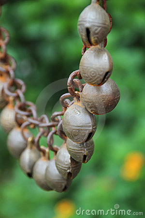 Chinese feng shui bells