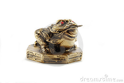 Chinese Feng Shui Money Frog-symbol of wealth
