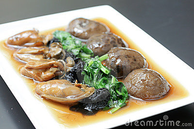 Chinese festive edible fungus delicacy