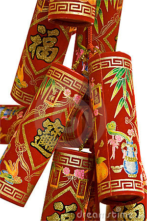 Free Chinese Fire Crackers Stock Images - 4215564