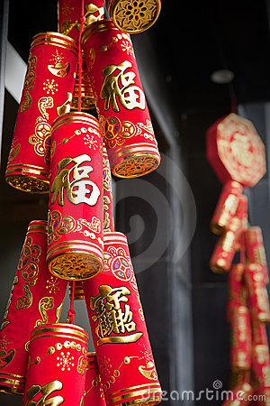 Chinese firecrackers decorations