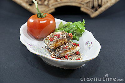 Chinese fish dish