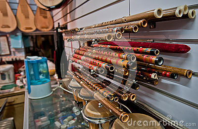 Chinese flutes