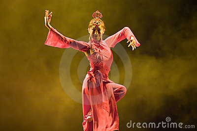 Chinese  folk dance Editorial Image