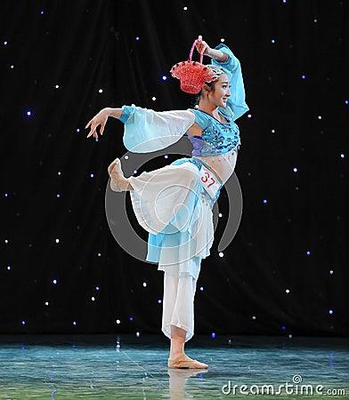 Chinese folk dance-Basket dance