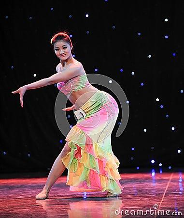 Chinese folk dance-Dai dance