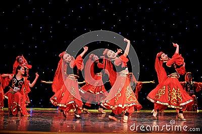 Chinese folk dance-Uighur dance