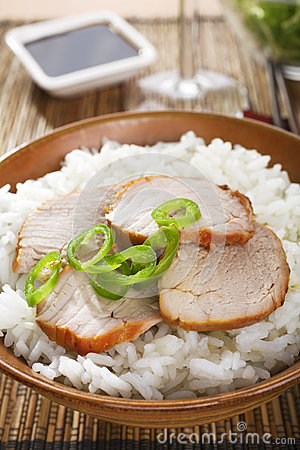 Chinese Food Char Siu Pork Stock Photos - Image: 25835363