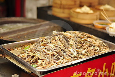 Chinese Food delicacy 3 - sliced intestines