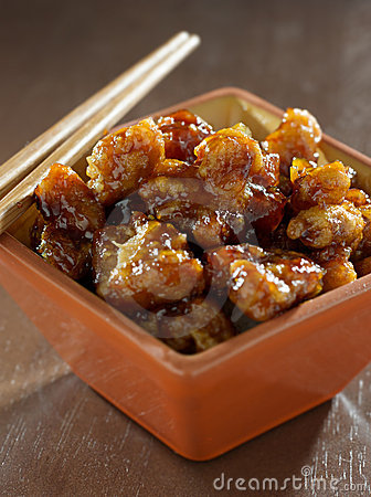Chinese food - general tso s chicken