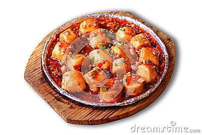 Chinese food-mapo tofu