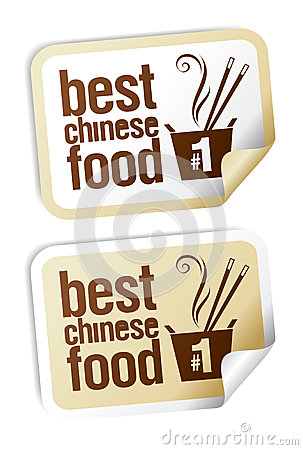 Chinese food stickers.