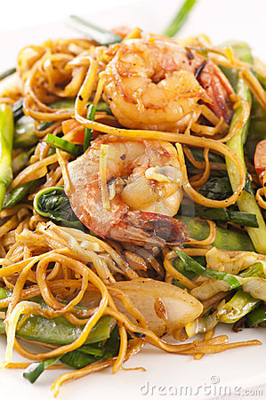 Free Chinese Fried Noodles Royalty Free Stock Photos - 24056328