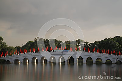 Chinese Garden bridge 2